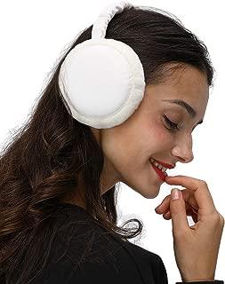 LETHMIK Winter Ear Muffs Outdoor,Mens&Womens Faux Fur Foldable Earmuffs Ear Warmer Cold Weather