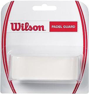 Wilson Cinta adhesiva Protector de pala de pádel, transparente, 3.3 x 41 cm, para proteger contra golpes, Unisex