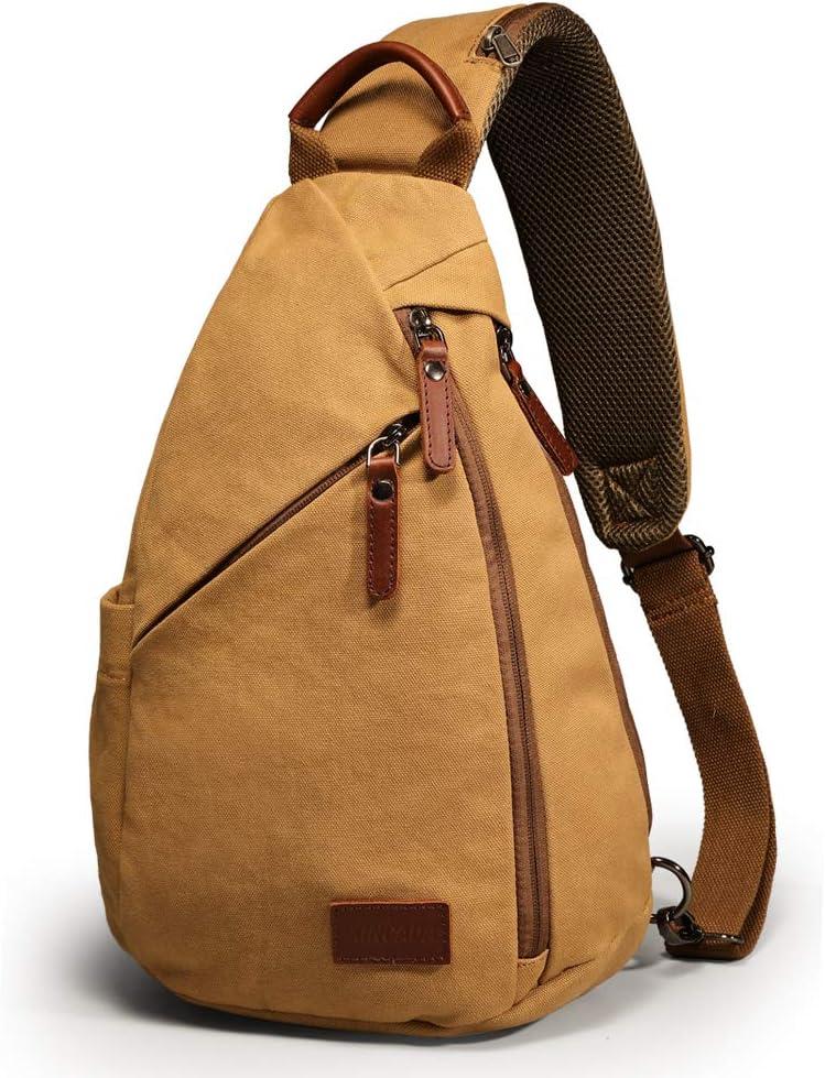 XINCADA Selling rankings gift Small Messenger Bag Crossbody Sling Canvas Backpack