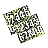 Exalt Loader Hopper Aufkleber Sticker Nummern Sheet, schwarz