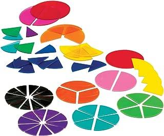 Best plastic fraction circles Reviews