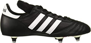 New World Cup 1AA Mens Molded Soccer Cleats Sz 7 Black/White 011040