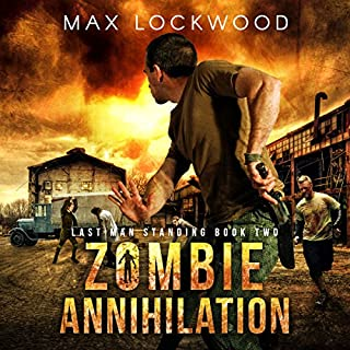 Zombie Annihilation: A Post-Apocalyptic Zombie Survival audiobook cover art