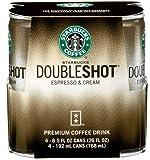 Starbucks Doubleshot Espresso & Cream 6.5 oz x 8 Cans