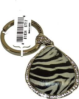Trinity FOB Zebra Print Key Ring