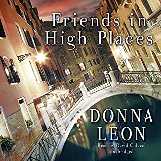 Friends in High Places audiobook cover art