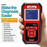 EMEBAY - KONNWEI kw850 mejorada OBD II lector de Scan Tool Compruebe motor Automotriz coche código lector, color Protector de función completa OBD2/EOBD escáner de diagnóstico