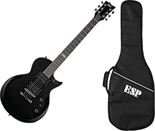 Best ESP LTD EC-10 KIT Electric Guitar with Gig Bag, Black Review