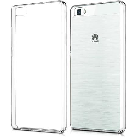 kwmobile Coque Compatible avec Huawei P8 Lite (2015) - Housse Protectrice pour Téléphone en Silicone Transparent