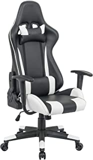 Gaming chair Upl: Combined PVC Arm: Fixed with PU padding Mch: butterfly tilt and can be locked at any position Gas lift: ...
