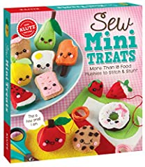 2016 nappa award winner 2016 parents' choice award winner More than 18 food plushies to stitch and stuff No prior sewing experience is necessary Includes a 48 pgs. Instructional book Small-scale projects stitch up fast and provide hours of fun Includ...