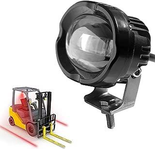AOMAX Red Forklift Led Light Warehouse Safety Warning Lamp Offroad Race 12V 36V 48V Blue forklift side light