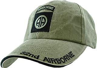 Armed Forces Depot U.S. Army 82nd Airborne Baseball Cap. OD Green