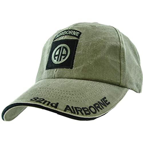 bcd754ff2d327 Armed Forces Depot U.S. Army 82nd Airborne Baseball Cap. OD Green