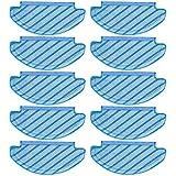 K KUMEED 10 Stück Ersatz Reinigungstuch Wischtuch Wischtücher Zubehör Tücher für Ecovacs DEEBOT OZMO T8 AIVI Roboter Staubsauger
