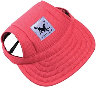 Pawaboo Gorra de B/éisbol del Perro Gato,Ajustable Perro de Deporte al Aire Libre de Protecci/ón del Sol Sombrero de B/éisbol Tapa Visera,Talla S,Azul