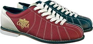 Ladies TCR1L Cobra Rental Bowling Shoes- LacesRed/Blue 8 1/2