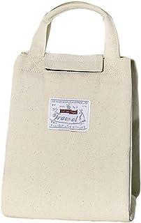 movement Isolierte Tasche Canvas Lunch Bag Tragbare Lunch Box Tasche Verdickte Große Kapazität Isolierung Handtasche Picknicktasche Elfenbein