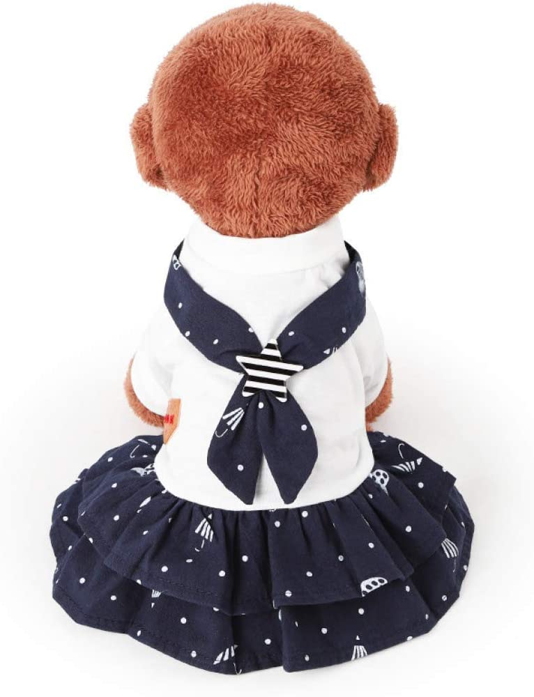 XYSQWZ Summer Pet Clothes Dog Navy Cute Shorts Puppy Prin Limited time trial price Lovers Ranking integrated 1st place