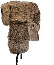 Best rabbit fur ushanka hat Reviews