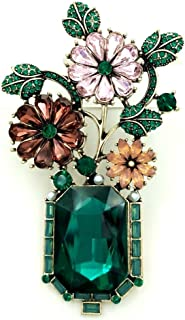 Edwardian Jewelry Flowers Brooches