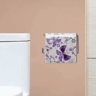 Kookee™ Sanitary Wares Window TET Tissue Paper Roll Holder - Butterfly Print