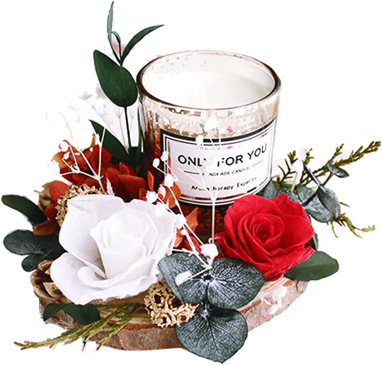 YICHEN Aromatherapy Candles Baltimore Mall Eternal specialty shop Dried Aro Flowers
