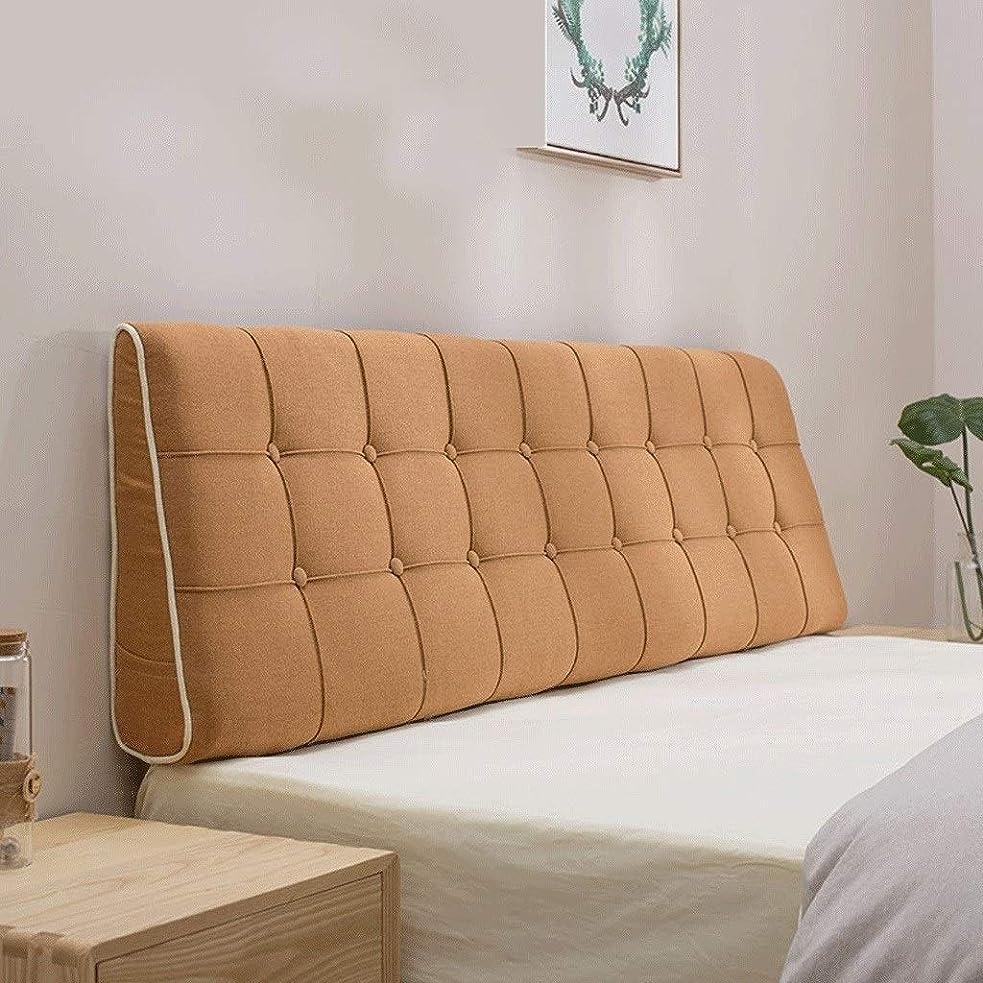 乱暴な冷酷な第九ベッドヘッドボードピローバッククッションベッドピローベッドバックレスト11カラー7サイズ (Color : N, Size : 190x50cm)