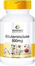 Pure Substance Warnke Vitalstoffe Glutamic Acid 500A mg No Additives 250A CapsulesA aE A vegi 145A g Pack of 1 Estimated Price : £ 12,97
