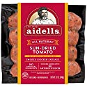 Aidells Smoked Chicken Sausage, Sun-Dried Tomato with Mozzarella Cheese, 12 oz. (4 Fully Cooked Links)