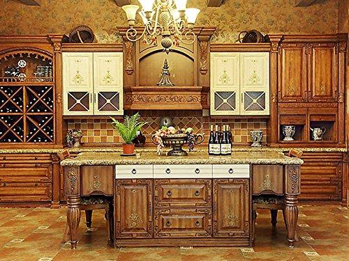 2pcs Vintage Cabinet Drawer Dresser Cupboard Pull Handle Knob-Matte Black