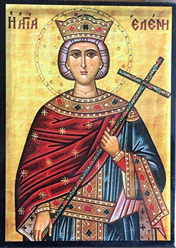 Icono de Santa Elena. Hecho a mano en Grecia.