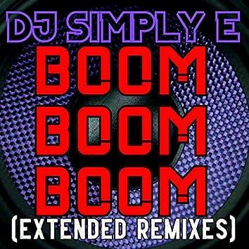 Boom Boom Boom (Extended Remixes)