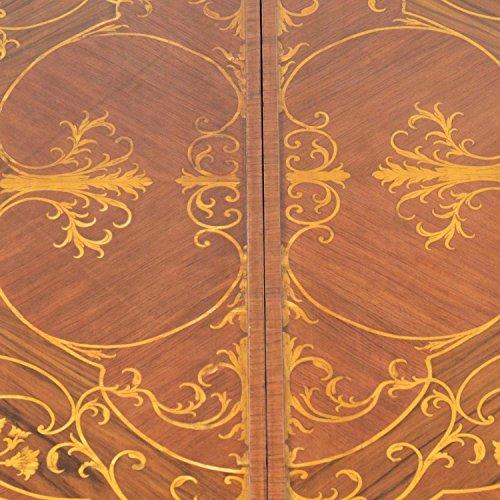 Mesa de comedor de madera maciza – Estilo Barroco | Rokkoko ...