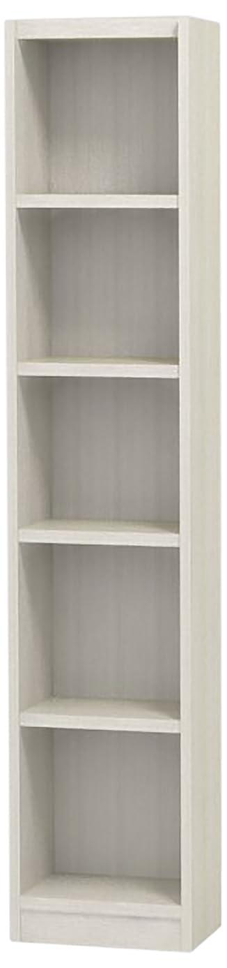 成果下向き損なう白井産業 木製 本 棚 高さ150 幅29 奥行19 cm オーダーメイド 置きたい場所ピッタリに作れる 収納 ホワイト オーク 棚板4枚 (タナリオ TNL-EM15029ATF2WH0)
