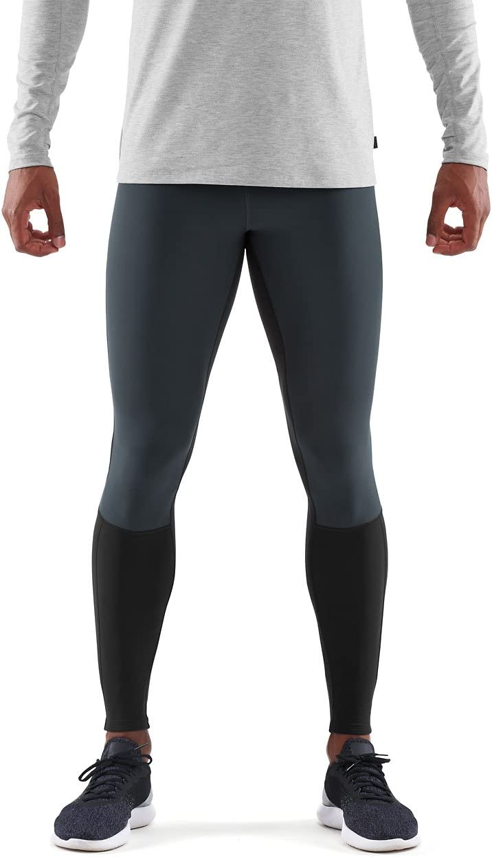 SKINS Mens DNAmic Thermal Windproof Long Tights