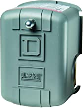 Square D by Schneider Electric FSG2J24CP 40-60 PSI Pumptrol Water Pressure Switch, Grey Cover