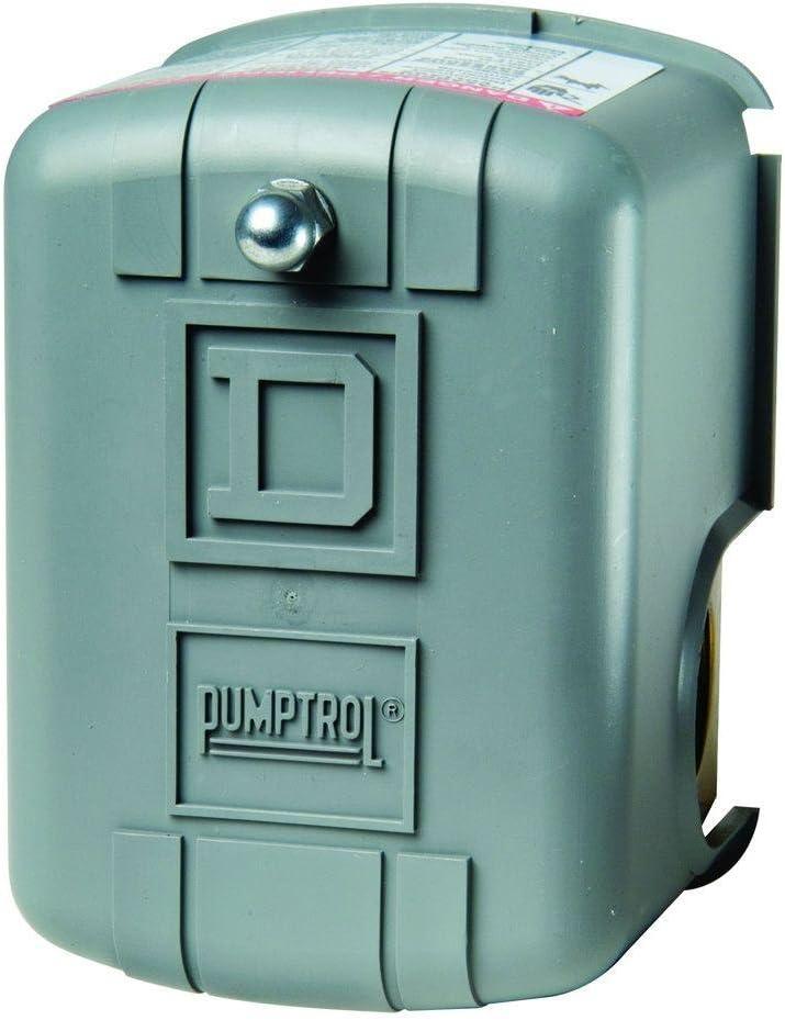 Square D by Schneider Electric FSG2J24CP 40-60 PSI Pumptrol Water Pressure  Switch, Grey Cover - Pressure Washers - Amazon.com  Amazon.com
