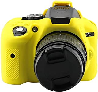 Rubber Shell Silicone Skin Body Cover For Nikon D5300 Camera Protection Case