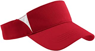 Sport-Tek - Dry Zone Colorblock Visor (True Red/White)
