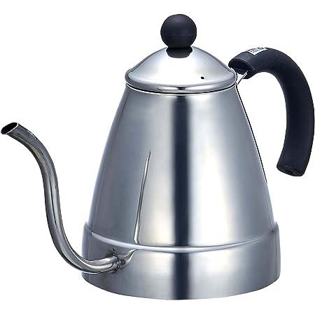 パール金属 コーヒー ドリップ ポット 1.4L IH対応 ステンレス アロマチック H-1006