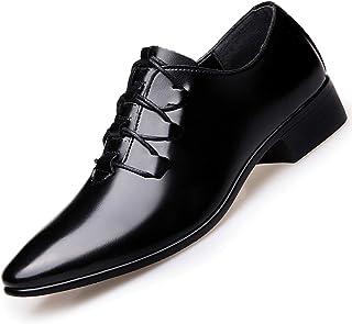 AARDIMI Zapatos de hombre uniforme, zapatos de trabajo, elegantes, zapatos de negocios, zapatos de piel, zapatos de boda