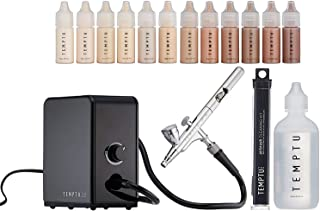 Temptu Signature Kit (Silicon-based-8 Foundations, 2 Blushes, 8 Highlighters, 30 ml Cleanser)