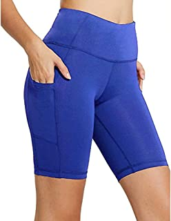 Short Pants Women Workout Out Pocket Leggings Fitness Sports Running Yoga Athletic Knickers Shorts