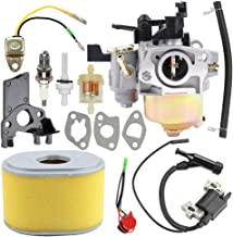 Savior GX 160 GX200 Carburetor for Honda GX160 Carburetor GX200 GX140 GX168 GX168F 5.5HP 6.5HP EG1400 EZ1400XK1 EG2200X EG2500XK1 EZ2500 Generator 16100-ZE1-825 16100-ZE1-814