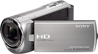 Sony HDR CX220ES HD Flash Camcorder (1920 x 1080 (50p), 29,8mm Weitwinkel Objektiv, 27 Fach Opt. Zoom, EXMOR R CMOS Sensor) Silber