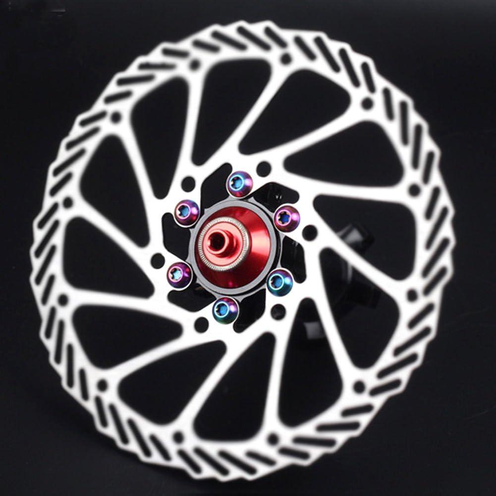 Avid Shimano Disc Brake Rotor 12 pcs Blue M5 x 10mm Titanium//Ti Bolt fit Hayes