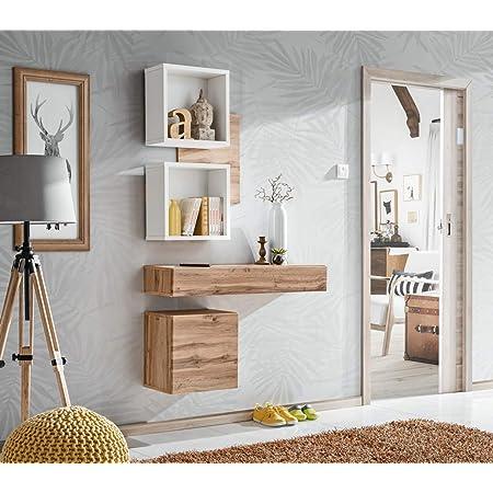 Composizione da Ingresso con Specchio cassetto e vano a Giorno Exter 1