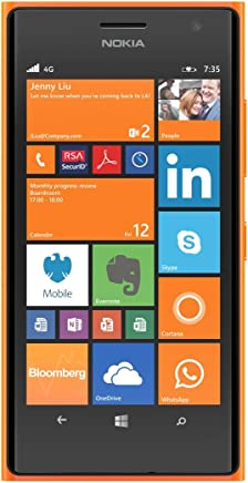 nokia lumia 735 8 gb 4 g orange – smartphone sim unique, windows phone, nanosim, gsm, wcdma, lte