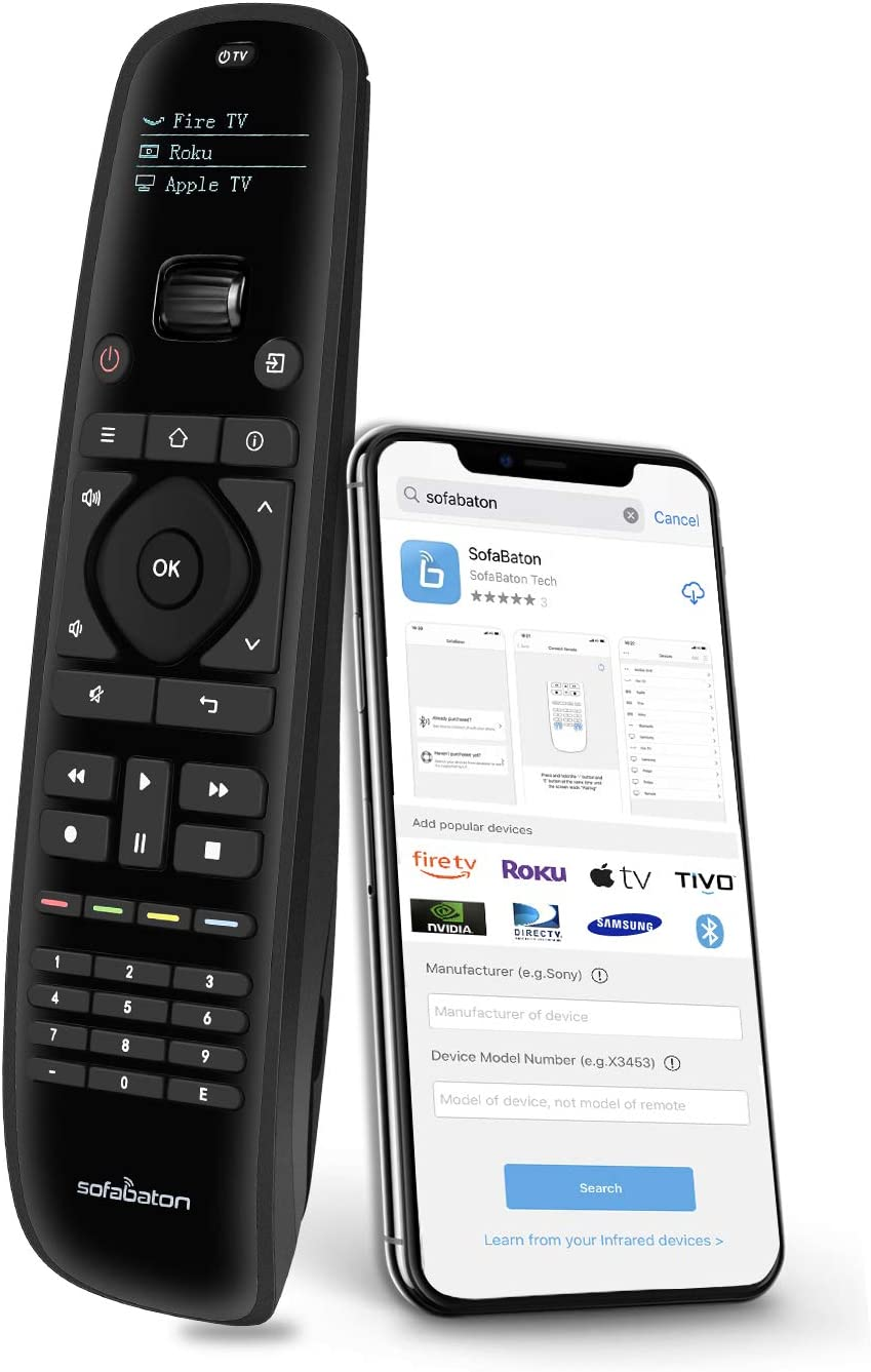 SofaBaton U1 Universal Remote ! Super beauty product restock quality top! Control with Smart APP in One Max 77% OFF All